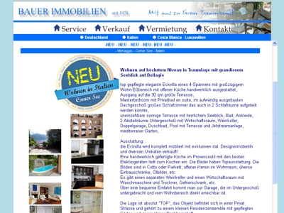 willedesign-weblayout bauer immobilien
