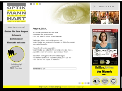 willedesign-weblayout optik mannhart